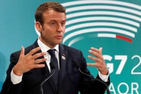 Departure of Syria's Bashar al-Assad No Longer a Priority: Emmanuel Macron