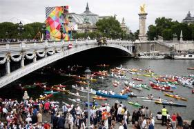 Olympic Day: Paris Turns Into Olympic Park As Part of Push to Host 2024 Games