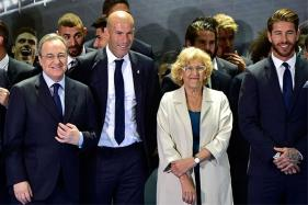 Zidane Can Stay in Real Madrid for Life: Club President Perez