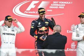 Azerbaijan Grand Prix: Daniel Ricciardo Wins Title, Vettel Penalised