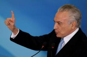 Brazil President Temer to Sue Billionaire Foe Over Graft Accusations