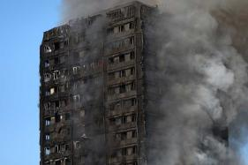 London Fire: 'Saw a Person Fall, Woman Holding Her Baby Out of The Window'
