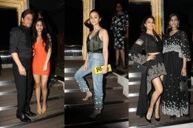 SRK And Suhana Steal The Show As B-Town Celebrities Attend Gauri's Bash