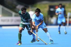 Indian Hockey Players Wear Black Armbands to Condole Attack on Soldiers