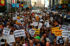 Thousands March in Madrid Demanding Govt to Honour Refugee Commitment