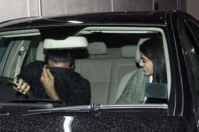 Navya Naveli Nanda Spotted on a Movie Date With a Friend