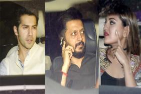 Varun, Sonakshi, Matin Join Salman For His Eid Party