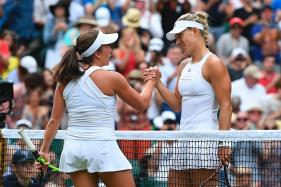 Wimbledon 2017: Angelique Kerber Beats Irina Falconi to Enter Round Two