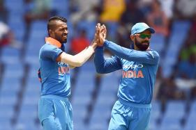 West Indies vs India: Kohli Heaps Praise on Kedar, Pandya