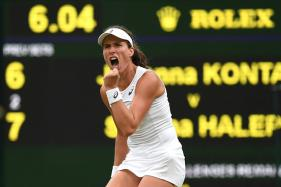 Wimbledon 2017: Konta Becomes 1st British Woman to Enter Semis in 39 Years