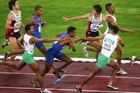 Asian Athletics Championship: Indian Men's 4x100m Relay Team Disqualified