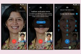 Microsoft India Brings Aadhaar Integration to Skype Lite