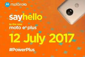 Moto E4 Plus With 5,000 mAh Battery Set For July 12 Launch, to be Flipkart Exclusive