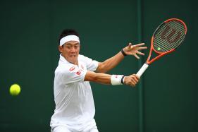 Wimbledon 2017: Kei Nishikori Outclasses Italian Cecchinato