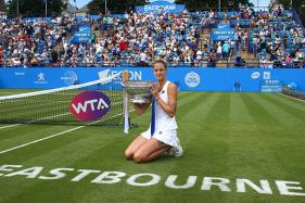 Pliskova Warms-up for Wimbledon in Style With Eastbourne Crown