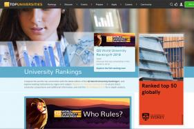 Which Indian IIT Tops the Rank on the QS World University Rankings?