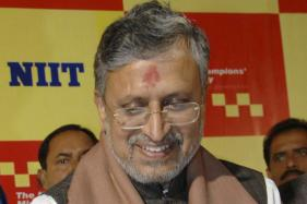 Sushil Modi Posers to Nitish Kumar on Closed Door Meeting With Tejaswi