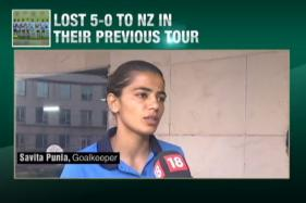 Indian Women's Hockey Team Take on South Africa