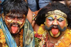 Bonalu Festival: Devotees Pay Thanks to Goddess Mahakali
