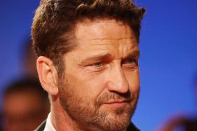 Gerard Butler Attends Geostorm Premiere Post Accident