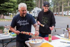 Guy Fieri Takes Family on US Road Trip For New Food Network Series
