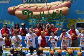 72 Hot Dogs Meet Their End at The Hands of 'Jaws' in Decades Old Contest