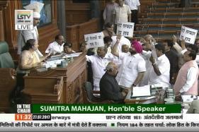 Parliament Live: Opposition, Govt Spar Over Suspension on Congress MPs