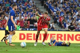 Thomas Mueller Brace Upstages Alvaro Morata Debut in Singapore Friendly