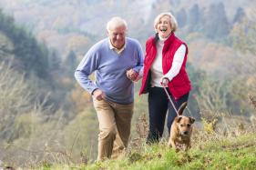 Walking The Dog Makes Seniors More Active
