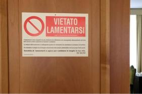 Pope Francis Tacks Sign on His Apartment Door: 'No Whining'