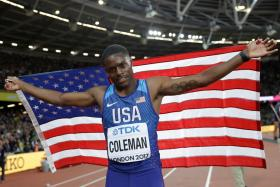 Smashing the World Record Was the Easy Part for Christian Coleman