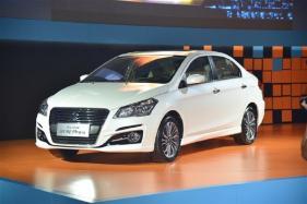 Maruti Suzuki Ciaz Facelift (Alivio Pro) Unveiled at Chengdu Auto Show in China