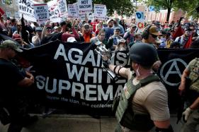 Car and Helicopter Crashes Kill 3 at White Nationalist Rally in US