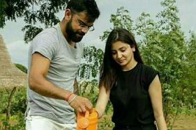 Virat Kohli and Anushka Sharma Go Green in Sri Lanka