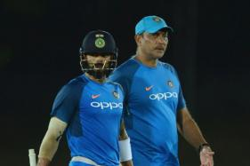 Virat Kohli, Ravi Shastri Get Into the Groove Ahead of First ODI