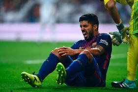 Luis Suarez to Continue Injury Recovery With Uruguay