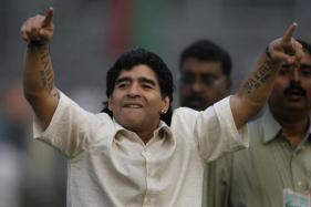 Diego Maradona Arrives in Kolkata, Likely to Play Charity Match