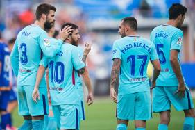 Messi Scores Brace After Missing Penalty to Guide Barca to Victory