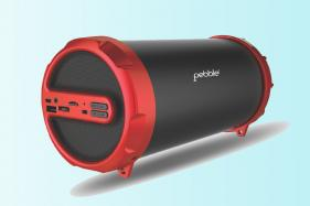 Pebble Storm Bluetooth Speaker Launched at Rs 2,750