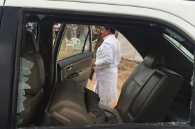 Rahul Gandhi's Car Pelted With Stones in Gujarat, Congress Blames BJP