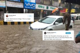 Mumbai Flooded After Heavy Rains, Twitterati Share Pictures
