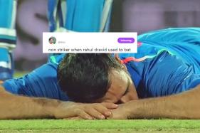 Dhoni Took A Power Nap After Sri Lankan Crowd Hurled Bottles And Interrupted Play