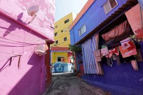 Street Art Brings Colour to Rundown Beirut Suburb