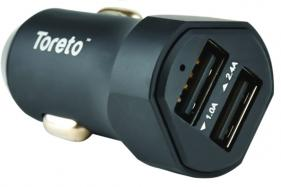 "Toreto Launches Multi-Functionality Car Charger – ""Rapid Charger 5 TOR 402"""