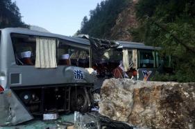 China Quake Scars Treasured Scenic Tourist Site