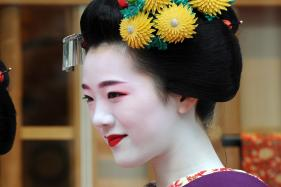 Kobe Beef Sandwiches Covered in Gold and Tea with a Geisha Make Up a Japanese Vacation