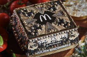 McDonalds and MacDonald Tie Up to Bling Out Their Craft Burgers