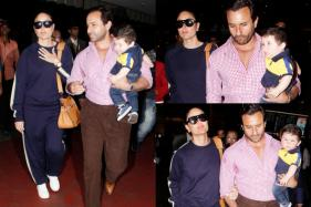 Taimur, Kareena, Saif Are Back From Their Swiss Vacation
