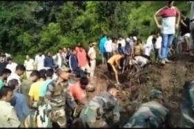 Five Killed as Landslide Buries 2 Buses in Himachal, Toll Feared to Rise