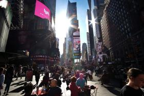 International Travel to US Drops For First Time Since 2009